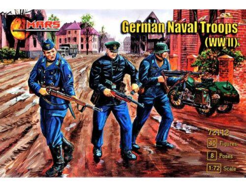 Mars WWII German naval troops 1:72 (MS72112)