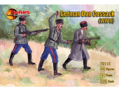 Mars WWII German Don cossack 1:72 (MS72113)