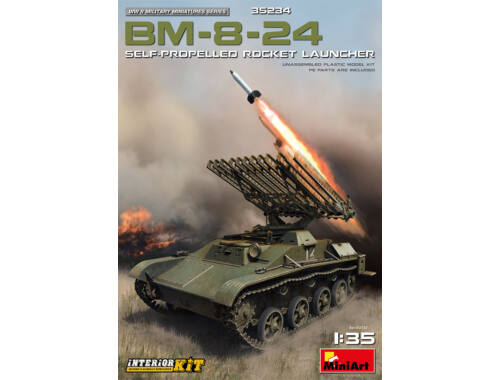 MiniArt BM-8-24 Self-Propelled Rocket Launcher Interior Kit 1:35 (35234)
