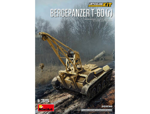 MiniArt Bergepanzer T-60(r) Interior Kit 1:35 (35238)