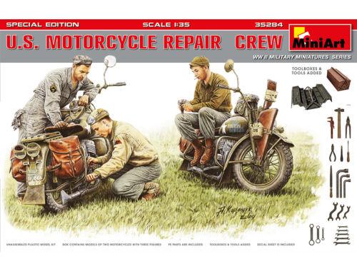 MiniArt U.S. Motocycle Repair Crew.Special Editi 1:35 (35284)