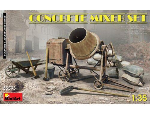 MiniArt Concrete Mixer Set 1:35 (35593)