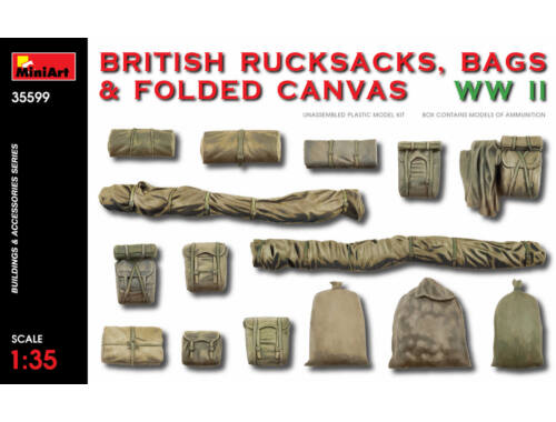 MiniArt British Rucksacks,Bags