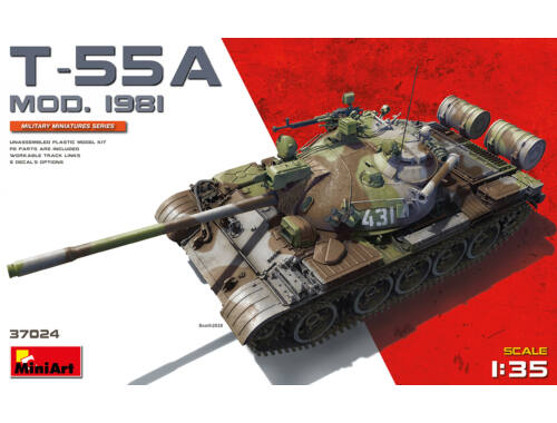 MiniArt T-55A mod.1981 1:35 (37024)