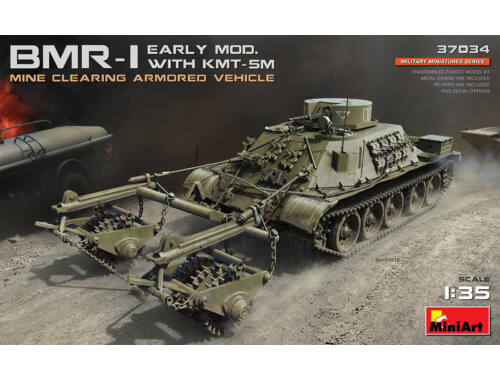 MiniArt BMR-1 Early Mod.with KMT-5M 1:35 (37034)