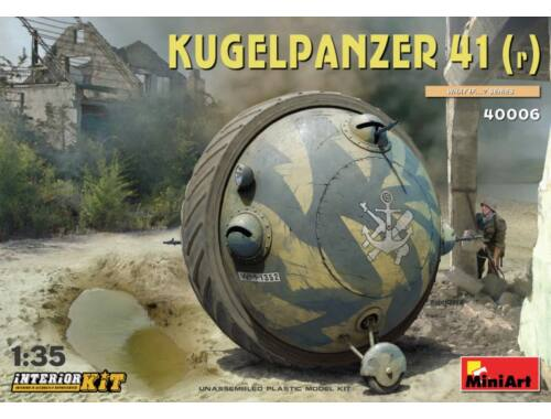 MiniArt Kugelpanzer 41(r) Interior Kit 1:35 (40006)