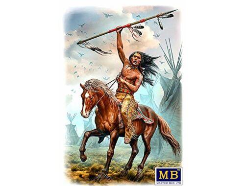 Master Box Buffalo Hunter. Running Bear 1:24 (24048)