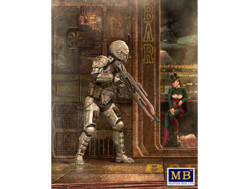"Master Box Tiberius""TY""Constellation Hackington III 1:24 (MB24054)"