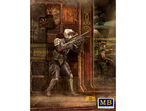 Master Box Laurie Lightning Bolt Barnes 1:24 (MB24055)