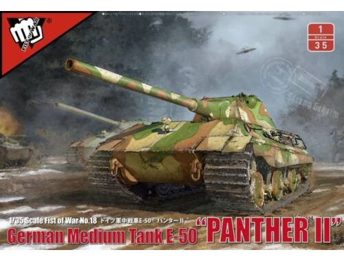Modelcollect German WWII E-50M Medium Tank w.105MM GUN 1:35 (UA35001)