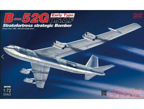 Modelcollect B-52G early type U.S.A.F stratofortress strategic bomber Broken Arrow1966 w.B-28 1:72 (