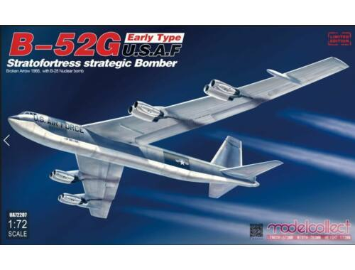Modelcollect B-52G early type U.S.A.F stratofortress strategic bomber Broken Arrow1966 w.B-28 1:72 (