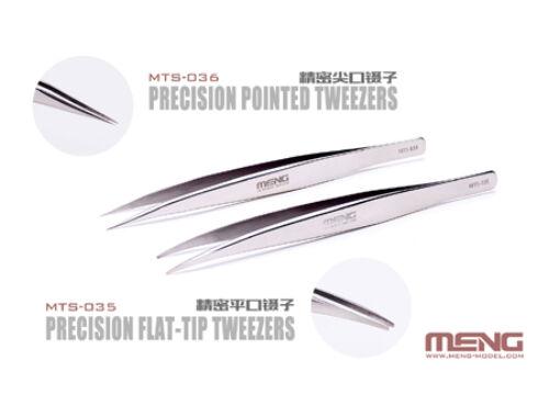 Meng Precision Flat-Tip Tweezers (MTS-035)