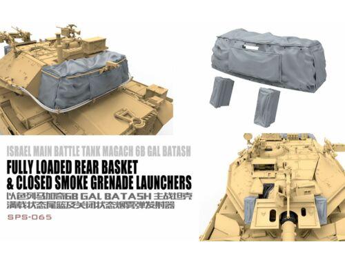 Meng Israel Main Battle Tank Magach 6B GAL BATASH Fully Loaded Rear Basket 1:35 (SPS-065)