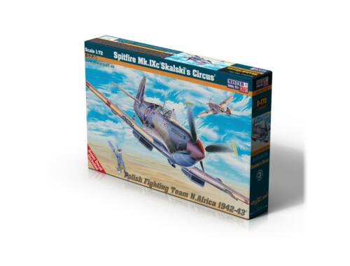 "Mistercraft Spitfire Mk.IX ""Skalski's Circus"" 1:72 (D-170)"