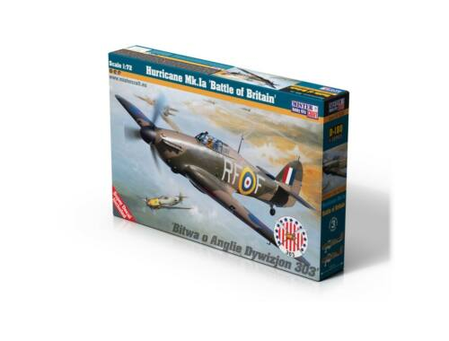 "Mistercraft Hurricane Mk.Ia ""Battle of Britan"" 1:72 (D-180)"