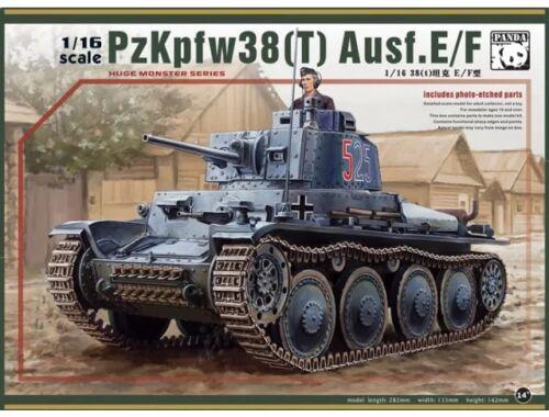 Panda Hobby Pz.Kpfw.38(t) Ausf.E/F 1:16 (16001)