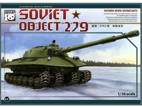 Panda Hobby Object 279 Soviet Heavy Tank 1:35 (PH35005)