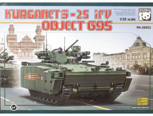 Panda Hobby BMP Object 695 Kurganet-25 1:35 (35023)