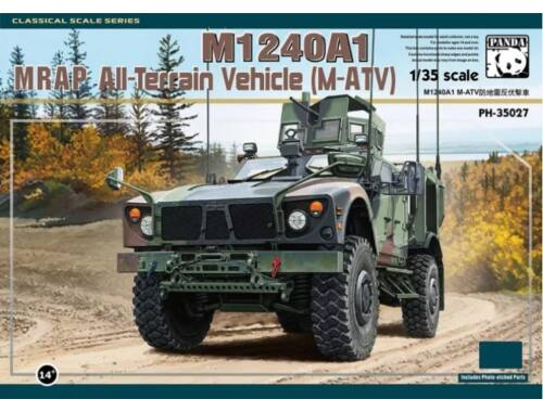 Panda Hobby M1240A1 M-ATV MRAP All-Terrain Vehicle 1:35 (35027)