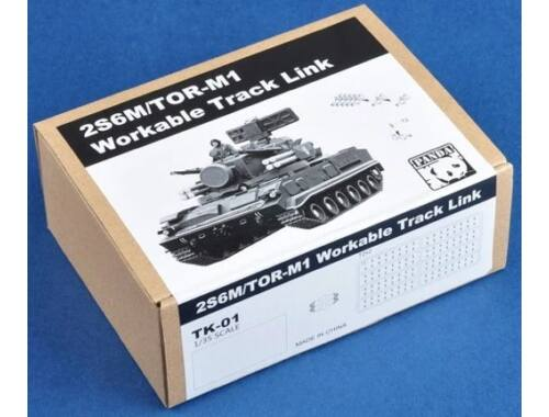 Panda Hobby (2S6M/Tor-M1)Workable Track link(Plastic 1:35 (TK-01)