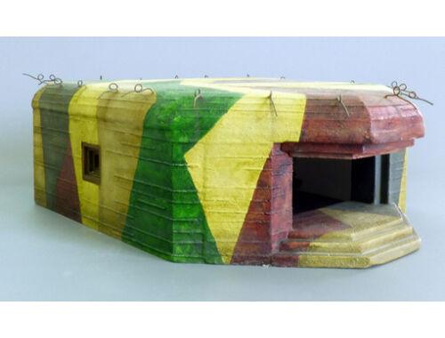 Plus model German artillery Bunker 1:35 (493)