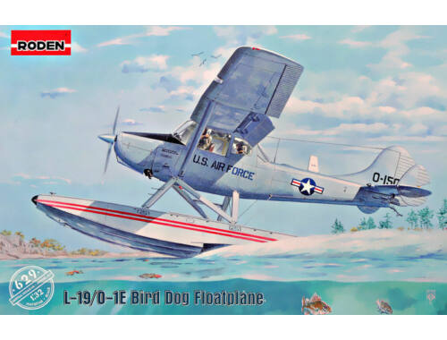Roden L-19/O-1 Bird Dog Floatplane 1:32 (629)