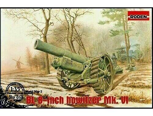 Roden BL 8-inch Howitzer Mk.VI 1:35 (813)
