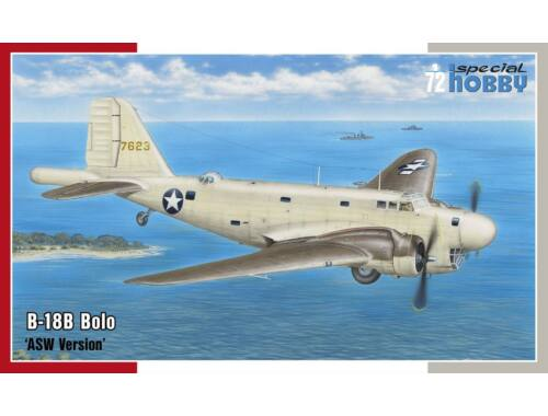 Special Hobby B-18B Bolo'ASW Version 1:72 (72230)