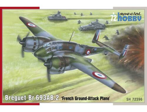 Special Hobby Breguet Br.693AB.2 French Attack-Bomber 1:72 (72396)
