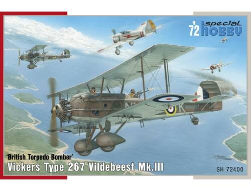 Special Hobby Vickers Vildebeest Mk.III 1:72 (72400)