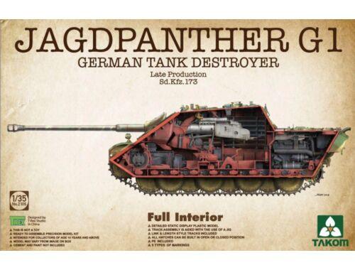 Takom Jagdpanther G1 Late Production Sd.Kfz173 1:35 (2106)