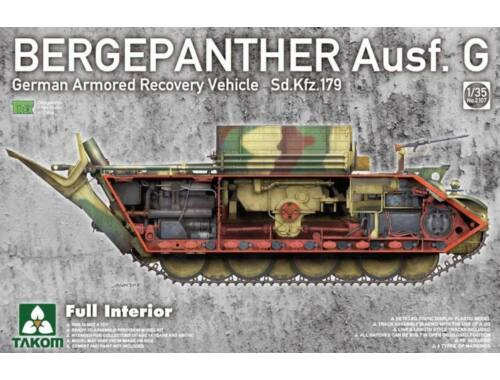 Takom Bergepanther Ausf.G German Armored Recovery Vehicle Sd.Kfz.179 w/full inter 1:35 (2107)