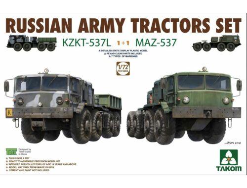 Takom Russian Army Tractors KZKT-537L