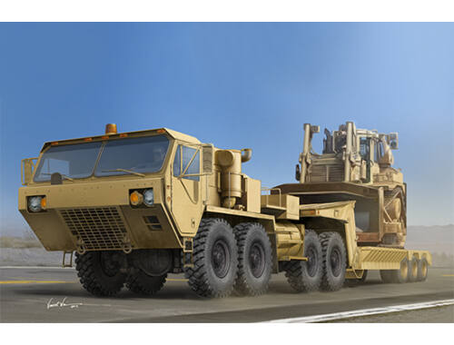 Trumpeter M983A2 HEMTT Tractor with M870A1 Semi- Trailer 1:35 (1055)
