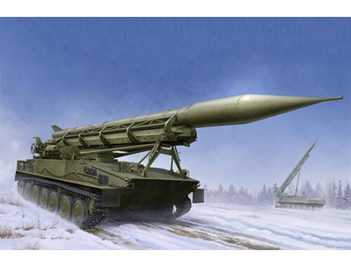 Trumpeter 2P16 Launcher with Missile of 2k6 Luna (FROG-5) 1:35 (09545)
