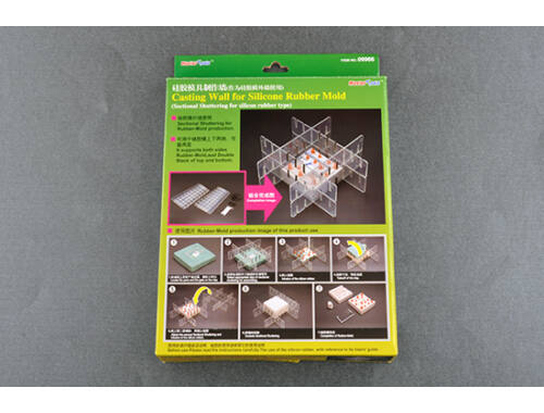 Trumpeter Master Tools Casting Wall for Silicone Rubber Mould (9966)