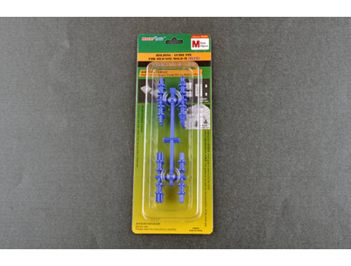 Trumpeter Master Tools Holding/Guide pin for silicone mould-M (Blue) (9983)