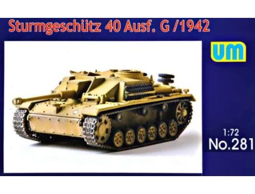 Unimodels Sturmgeschutz 40 Ausf.G, early 1:72 (UM281)