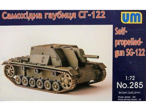 Unimodels SG-122 self-proppeled gun 1:72 (UM285)