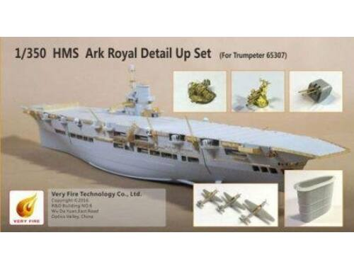 Very Fire HMS Ark Royal Detail Up Set(for Trumpete f.Trumpeter 65307) 1:350 (VF350004)