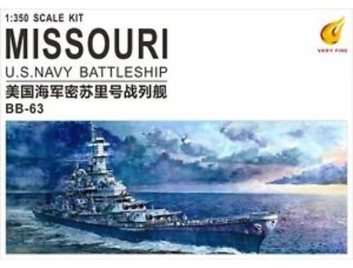 Very Fire USS Missouri BB-63 1:350 (VF350903)