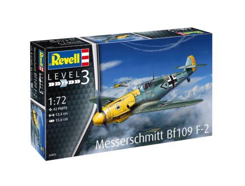 Revell Messerschmitt Bf109 F-2 1:72 (3893)