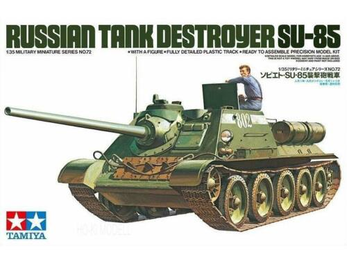 Tamiya Russian Tank Destroyer SU-85 1:35 (35072)