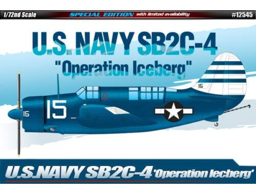"Academy SB2C-4 ""Operation Iceberg"" 1:72 (12545)"