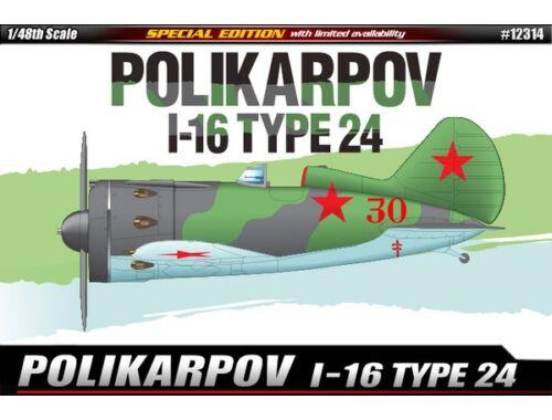 Academy POLIKARPOV I-16 TYPE 24 1:48 (12314)