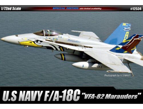 """Academy F/A-18C """"VFA-82 Marauders"""" 1:72 (12534)"""