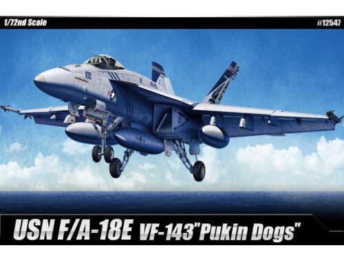 "Academy F/A-18E ""VF-143 Pukin Dogs"" 1:72 (12547)"