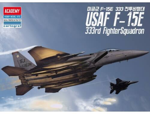 "Academy F-15E ""333rd Fighter Squadron"" 1:72 (12550)"