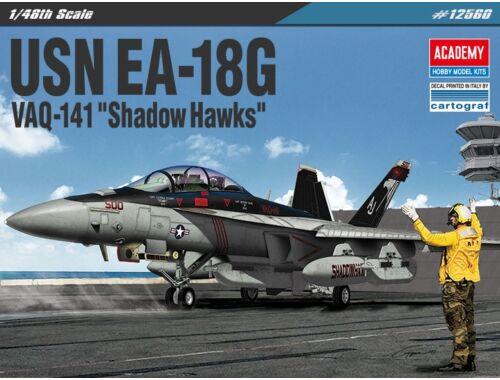 """Academy EA-18G """"VAQ-141 Shadow Hawks"""" 1:72 (12560)"""